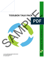 Toolbox Talk Pack