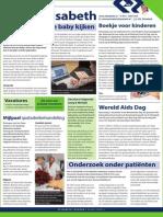 Liever Elisabeth Pagina in Brabants Dagblad - November 2013