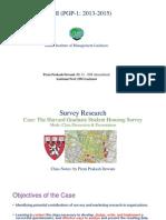 Harvard Graduate Student Housing Survey