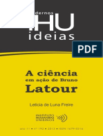 Cadernos IHU Bruno Latour