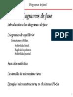 Diagrama Fases I