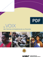 Voices of Women Entrepreneurs in Rwanda (French)