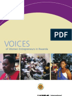 Voices of Women Entrepreneurs in Rwanda
