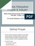 PPI-Analisis Kelayakan Proyek Industri