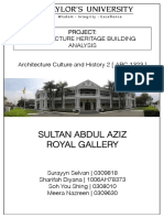 History Report [The Royal Klang Gallery]