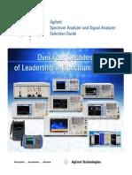 vector signal analyzer selection guide