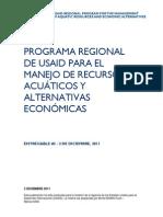 Diagnóstico de capacidades institucionales en el sector pesquero en Honduras