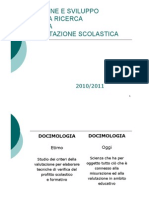 Docimologia Origine e Sviluppo