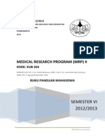 BPM MRP II 2013 fix mahasiswa kedokteran umum