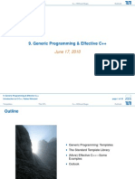 09 Generic Programming and Effective