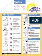 Red Cross CPR at a Glance Guide