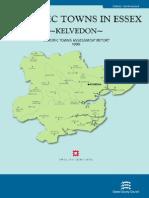 Historic Towns in Essex Kelvedon Report 1999