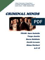 Criminal MinCRIMINAL MINDS