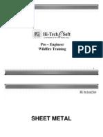 Pro E Sheetmetal