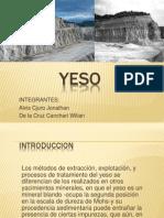Yeso No Metalicos Alvis, Willian