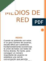 medios de transmicion de red