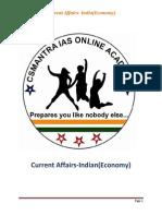 3current Affairs-3indian Economy