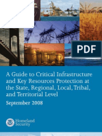 Critical Infrastructure & Key Resources Protection