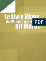 Livre blanc du Microcrédit au Maroc (En français)