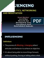 Power,Politics, Networking&Negotiation
