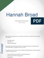 Environment Assessment Presentation