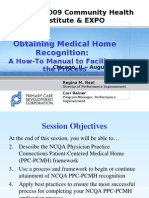 Obtaining Medical Home Recognition