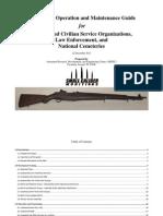 M1 Garand Operation and Maintenance Guide 2013