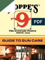 Guide to Gun Care