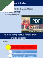 Blue Ocean Strategy + Five forces module