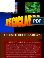 Reciclarea Sticlei