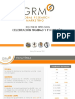 Navidad y Fin de Año Peru 2012