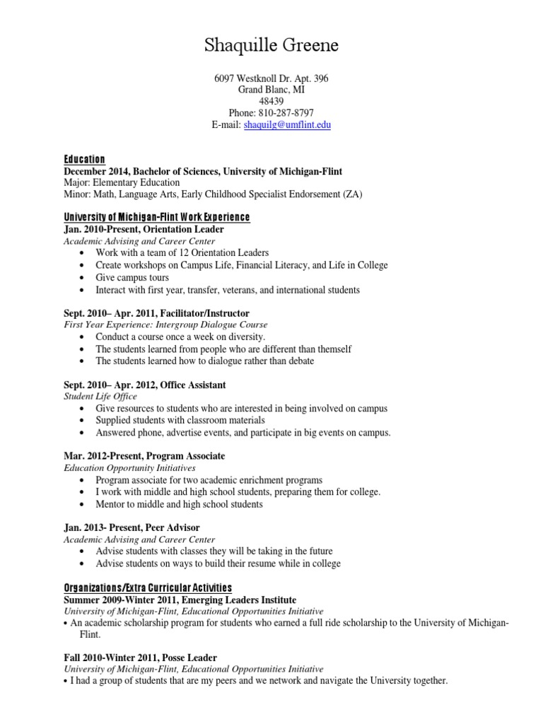 Beautiful Resume Workshop For High School Students Images - Entry ...