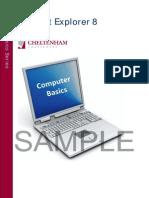 Internet Explorer 8 Basics Manual