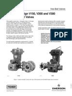 Fisher V150 Vee Ball Valves