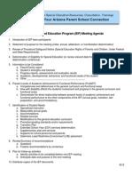 IEP Mtg Agenda