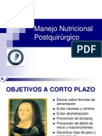Manejo Nutricional CX