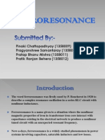 Ferroresonance Team Presentation