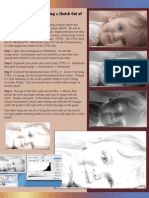 Photoshop Tutorial - Creating a Sketch Out of a Photograph