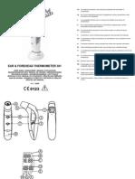 Manual termómetro nena