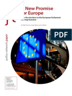 A New Promise for Europe - Olaf Cramme, Arian Meyer and Jo Ritzen