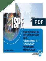 Commissioning vs Qualificación ISPE
