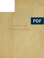 Concerning Lawn Planting Vaux / Parsons