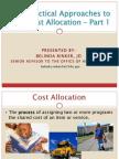 N E HSA Cost Allocation