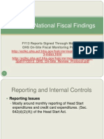 N E HSA National and Regional Findings