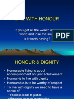 6.Living With Honour