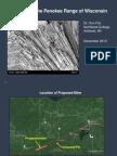 Grunerite in the Penokee Range of Wisconsin