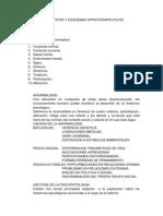 Diagnosticos y Esquemas Hipnoterapeuticos