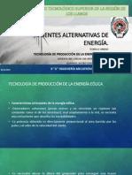 Tecnologia de Produccion de La Energia Eolica