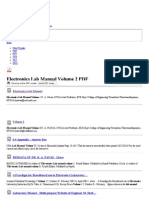 Electronics Lab Manual Volume 2 - Free PDF Downloads