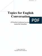 Topics for English Conversation